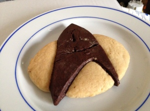 TNG Logo in cookie form